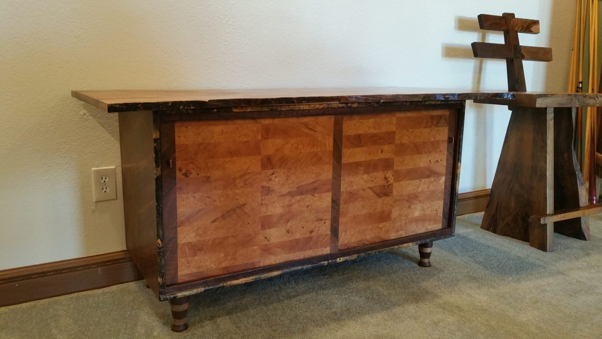 Art Deco Buffet Table